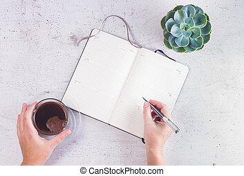 Open empty notebook