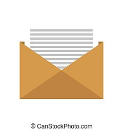 open envelope letter