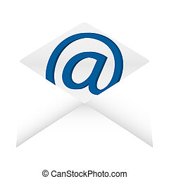 Open envelope with email