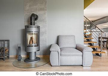 Open floor plan apartment idea