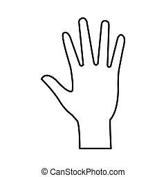 hand icon image
