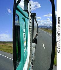 Open highway trucking