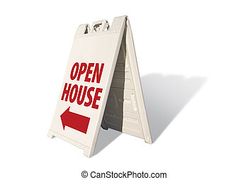 Open House Tent Sign