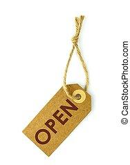 Open label