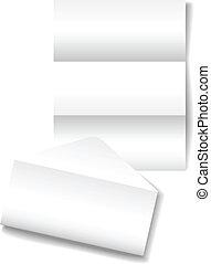 Open letter envelope stationery paper background - Open...