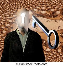 Open Mind - Mind to unlock with skeleton key