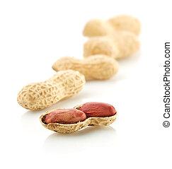 open peanuts