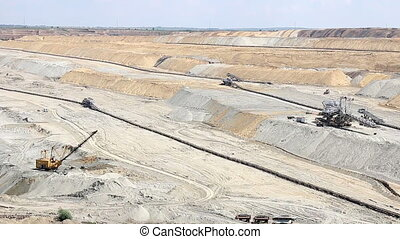 open pit coal mine industry