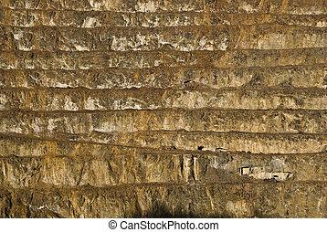 pyrite mine open pit