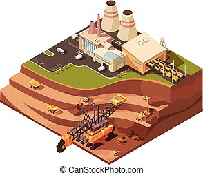 Open Pit Operations Composition