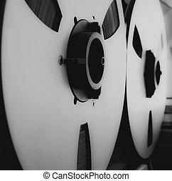Studio audio tape deck recorder