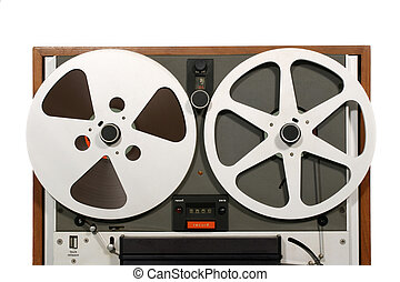 Open Reel Tape Deck Close
