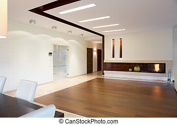 Open space at home