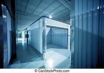Open Storage Unit. Climate Controlled Modern Storage ...