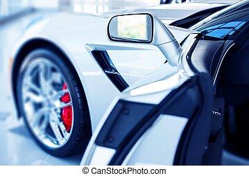 Open Super Car Door