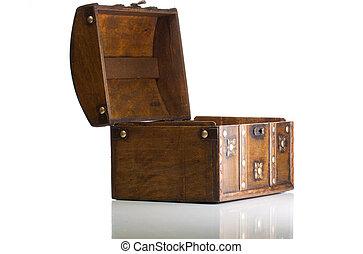 Open treasure box