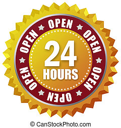 Open twenty four hour