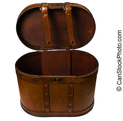 open vintage case