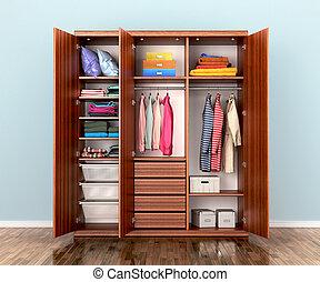 Open Wardrobe Clipart And Stock Illustrations 774 Open Wardrobe