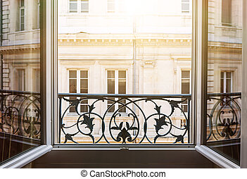 Open window in Toulouse