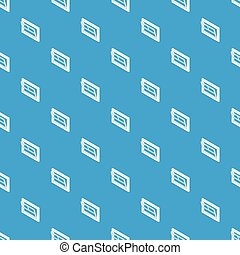 Open window leaf pattern vector seamless blue