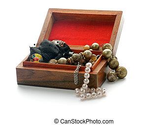 Wood Jewelry Casket