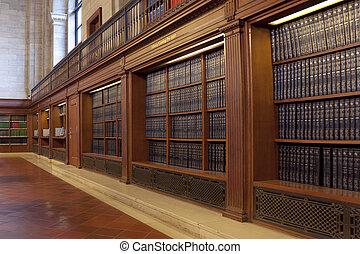 openbare bibliotheek, new york, usa