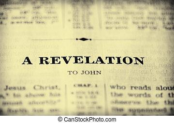 openbaring, bijbel, boek