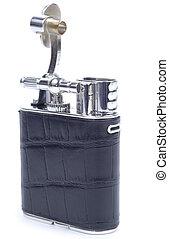 Opened Black Cigarette Lighter