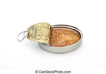 can of tuna fish