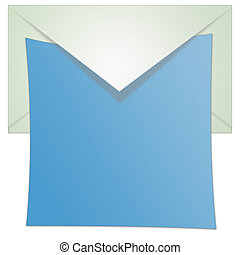 Opened Envelope Illustration