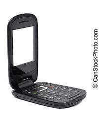 Opened Flip Phone