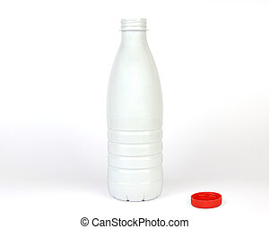 Opened Plastic Bottle