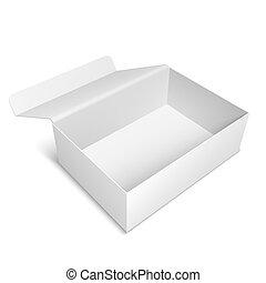 Opened White Box