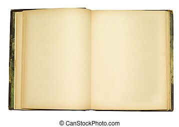 openempty, vecchio, libro