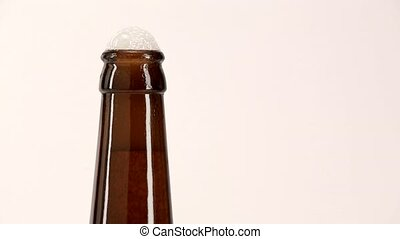 opening a bottle of beer