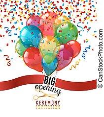 Opening Ceremony Invitation Background - Opening ceremony...