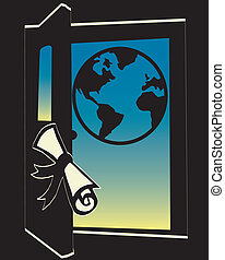 Opening Doors - diploma opening door to the future