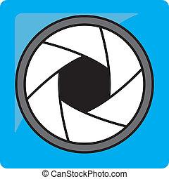 opening, pictogram
