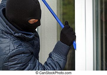 openning, housebreaker, fenêtre
