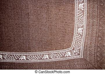 Openwork of Orenburg downy shawl. - Openwork of Orenburg...