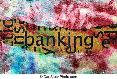 operação bancária, conceito