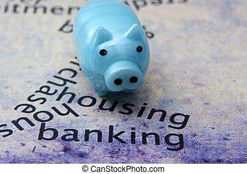 operação bancária, habitação, alvo
