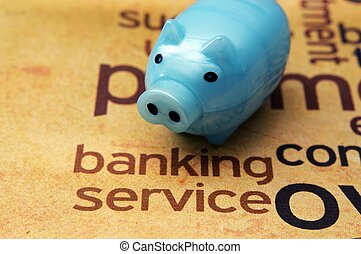 operação bancária, serviço, conceito