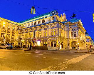 opera, austria., vienna.