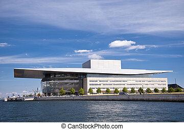 Opera in the port of Copenhagen