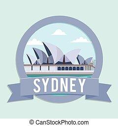 opera house sydney banner