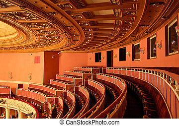 opera huis, interieur, -, seating