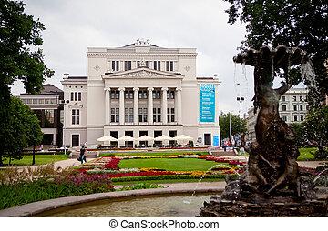 opera, ryga, teatr