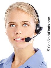 operador, centro de la llamada